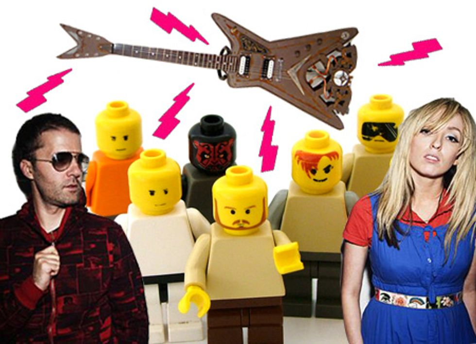 Eight Items or Less: Jay-Z and the Ting Tings, Steam Punk Rock and LEGO Nomenclature