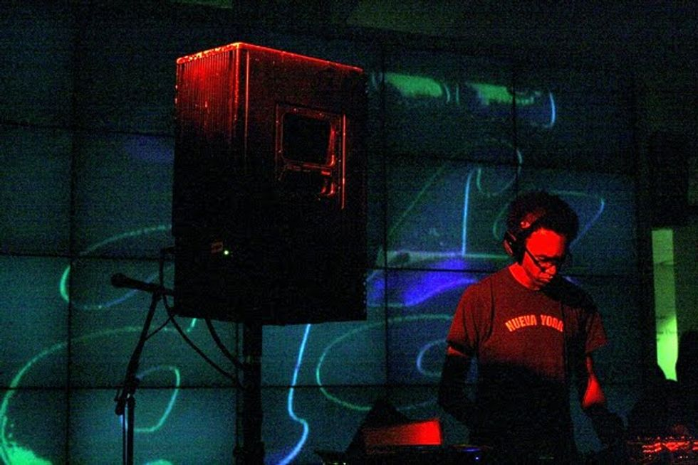 DJ/rupture at the Natural History: Music of the Sphere