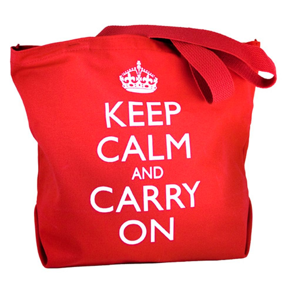 Market Watch: Keep Calm & Carry On Tote by Decorative Things