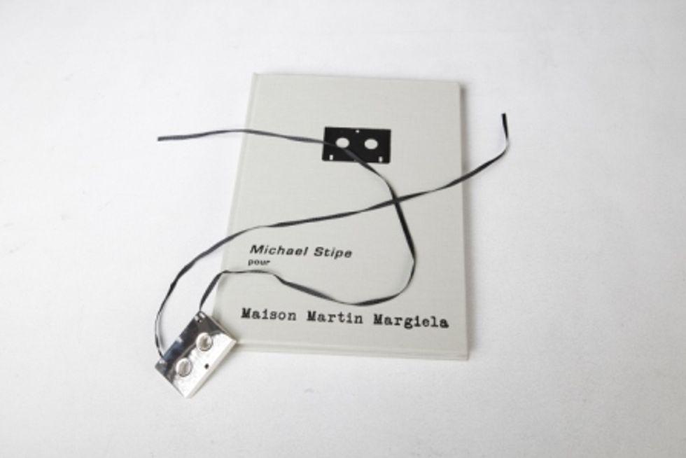Michael Stipe on Microcassette for Maison Martin Margiela
