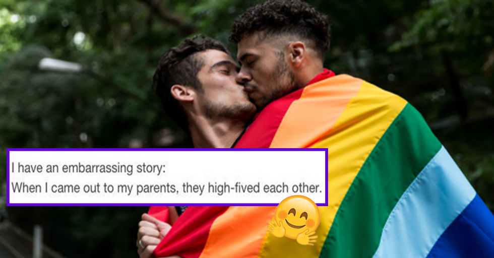 29 of the Sweetest, Funniest, and Most Heartwarming Coming Out Stories We've Ever Heard