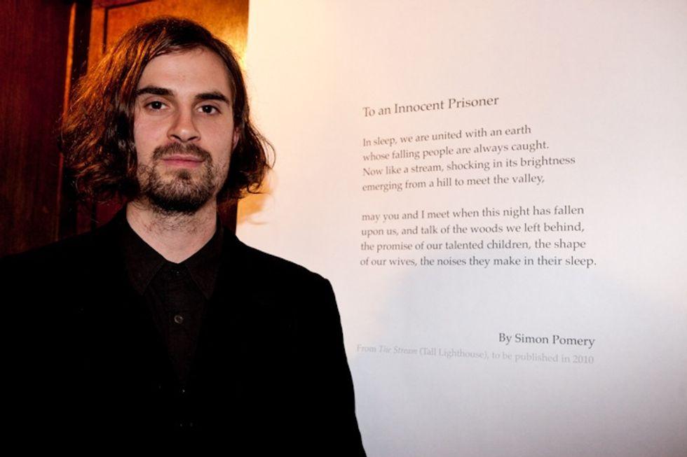 Getting to Know Emerging UK Literary Star Simon Pomery