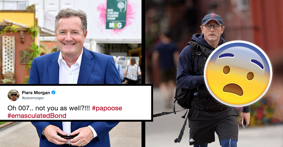 Dads Are Furious at Piers Morgan for Mocking Photo of Daniel Craig Carrying His Baby
