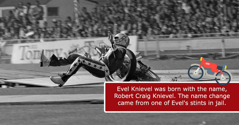 Shocking, Little-Known Facts About America's Favorite Daredevil, Evel Knievel