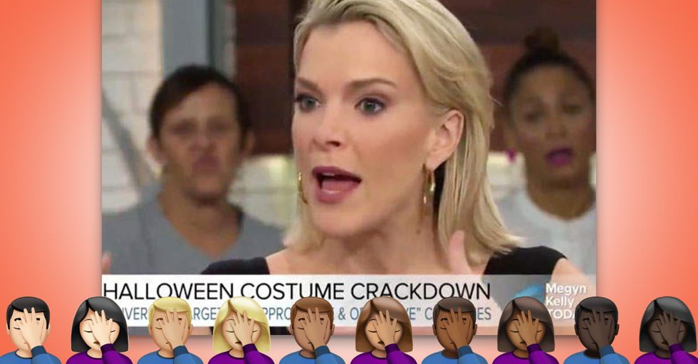 Megyn Kelly Thinks Dressing in Blackface for Halloween Isn't Racist
