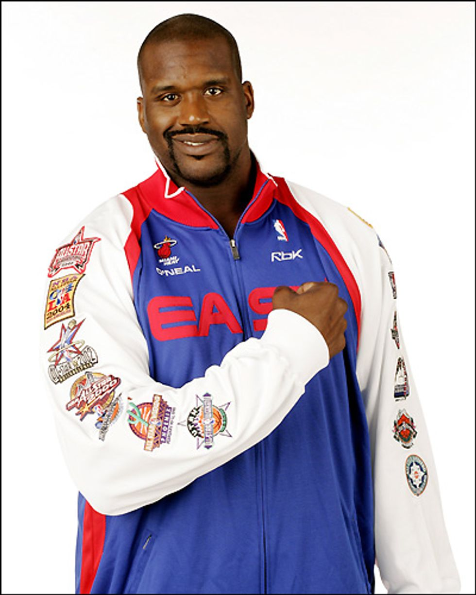 Eight Items or Less: Shaq's Art Show & Le Cirque's Late Night Party
