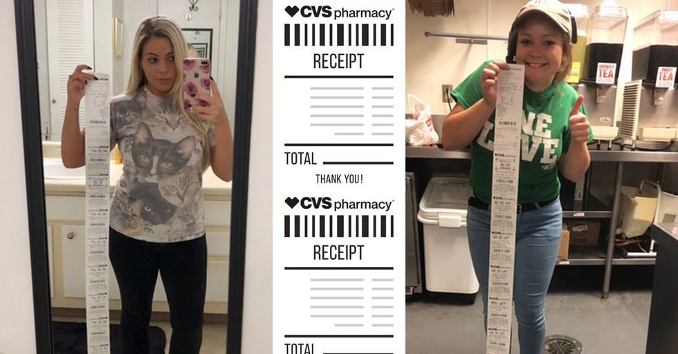 Ever Wanted to Know Why CVS Receipts Are So Insanely Long?