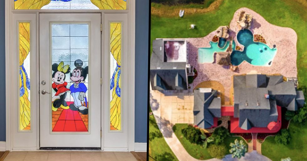 850K Florida Disney Mansion with Two Mickey Mouse Pools Hits the Market