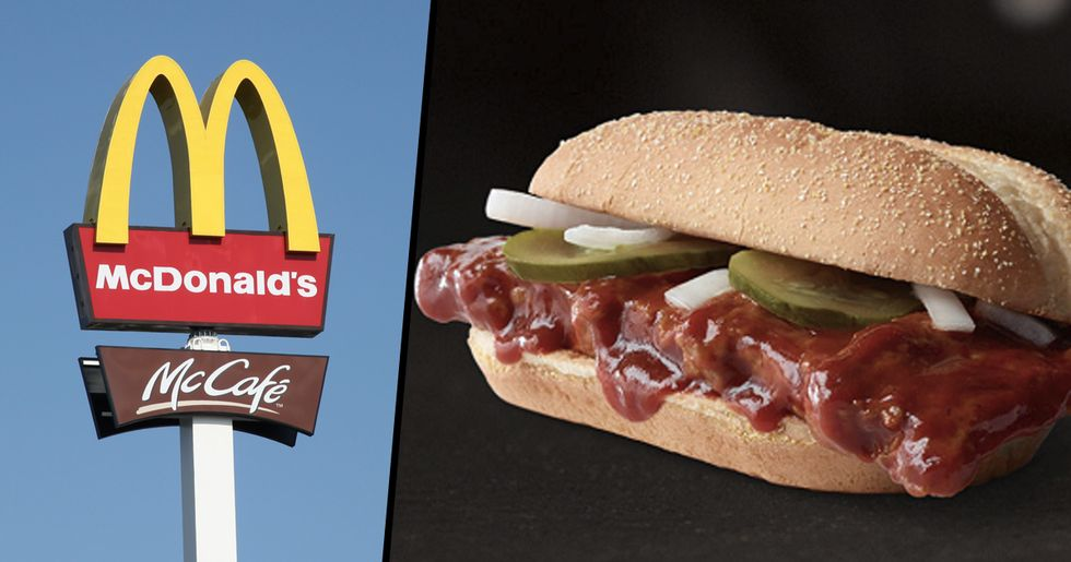 McDonald's Is Bringing Back the McRib and We're Counting Our Blessings