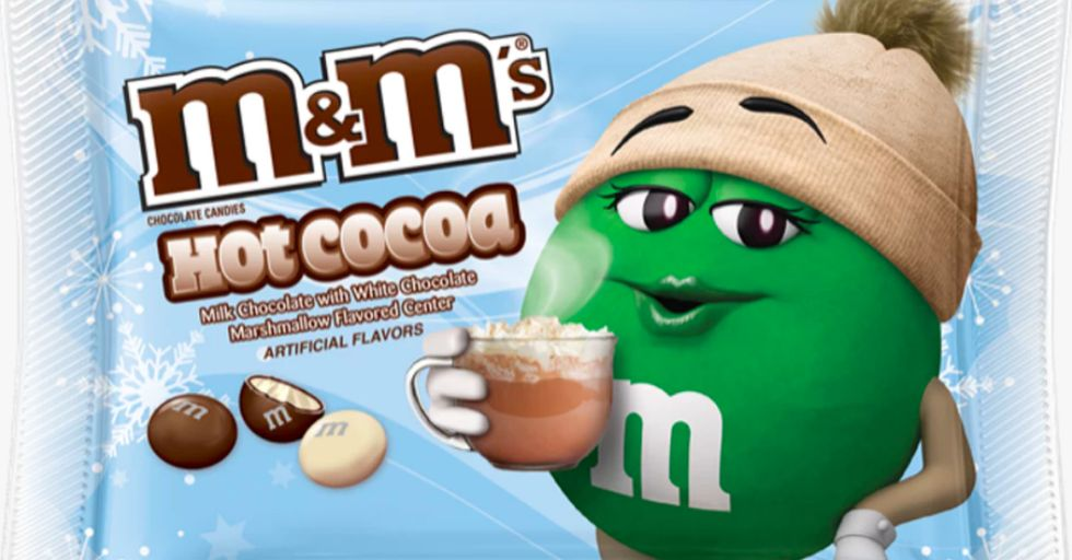 M&M's Releases Hot Cocoa Flavor Made With Marshmallow-Flavored White Chocolate Center