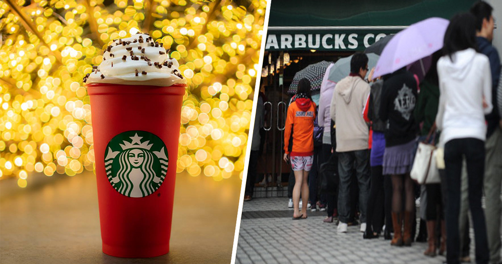 Starbucks Giving Away Reusable Coffee Cups To Make Coffee Cheaper All Winter