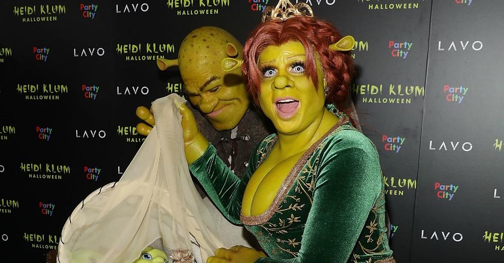 Heidi Klum's Princess Fiona Halloween Costume Is Her Best One Yet