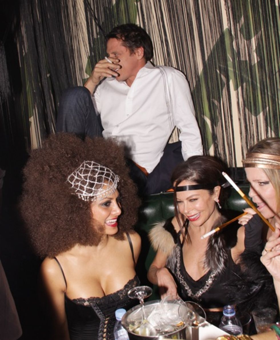 Scenes from Indochine's 25th Anniversary Bash
