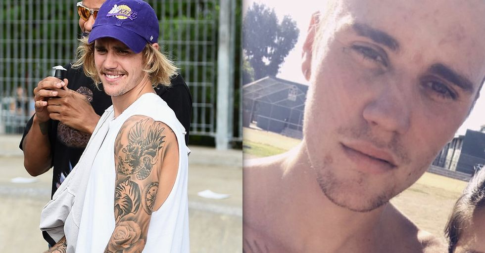 Justin Bieber Gets Face Tattoo and Fans Are Shook