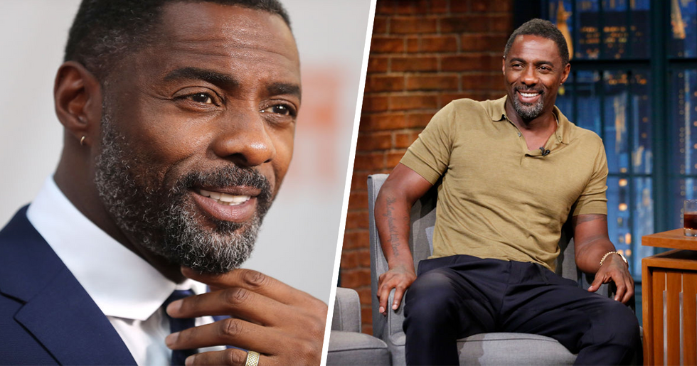 Idris Elba Is Officially People's Sexiest Man Alive 2018