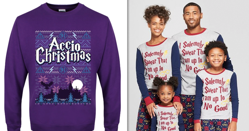 Harry Potter Christmas Sweaters Are What Every Muggle Needs This Christmas
