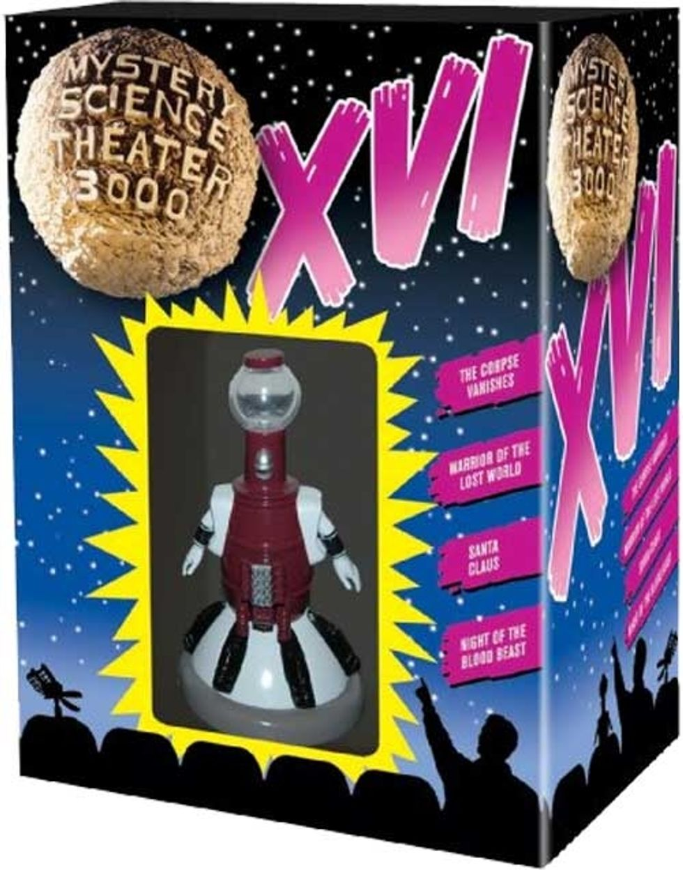 Mystery Science Theater 3000: Volume XVI On DVD!
