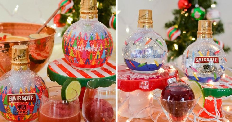Vodka-Filled Ornament Bottles Exist and They Are a Must This Christmas