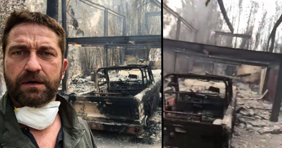 Gerard Butler's Home Burns Down After Californian Wildfire 'Wipes Town Off Map'