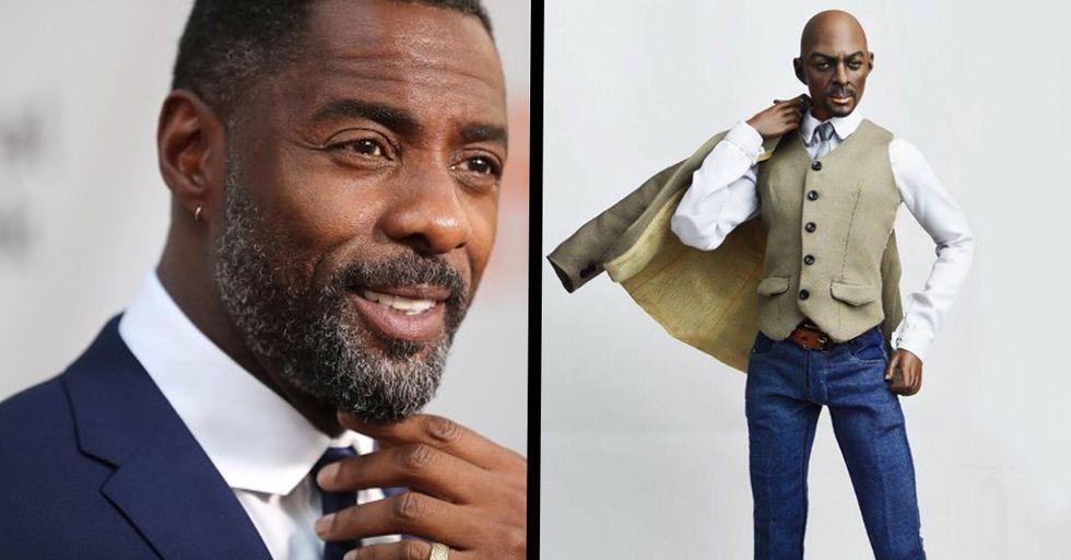 Fans Are Mocking Bizarre Idris Elba Doll That Looks Nothing Like Him