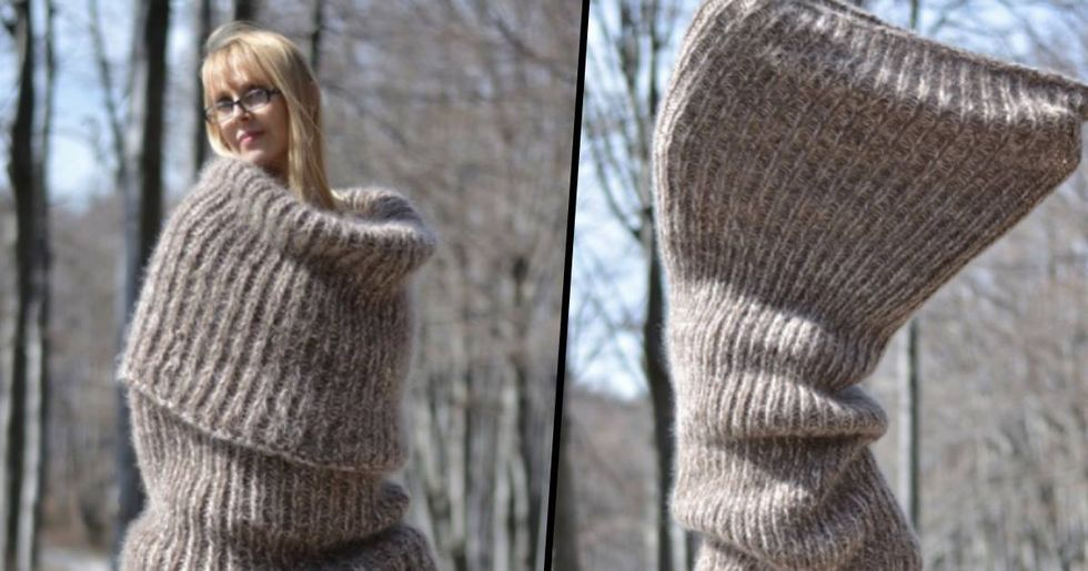 Ridiculous Full-Body Scarf Exists To Get You Through Winter