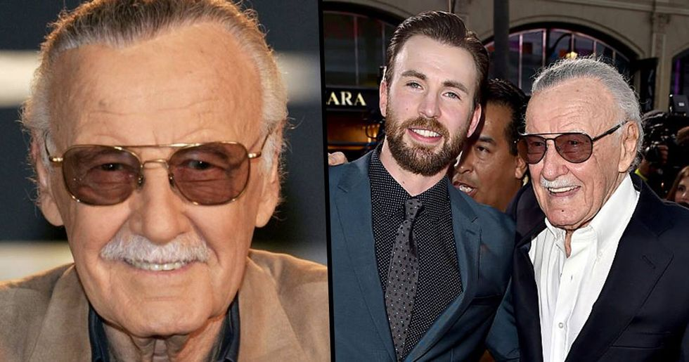 Chris Evans Posts Devastating Tribute To Stan Lee