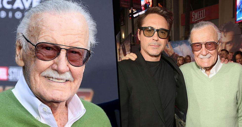 Robert Downey Jr Posts Devastating Instagram After Death Of Stan Lee