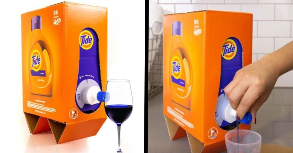 Tide's New Packaging Looks Like Boxed Wine and People Are Losing It