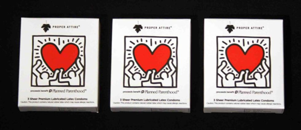 Keith Haring Proper Attire Condoms for World AIDS Day!