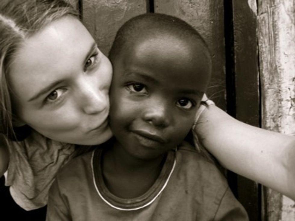 Peter Davis' Status Update: Rooney Raises for Kibera