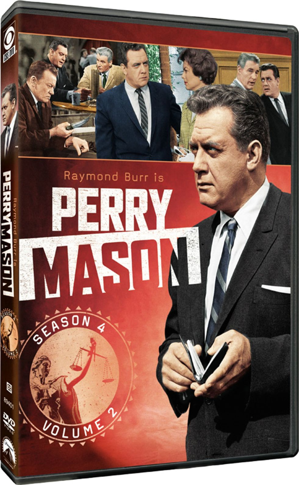 Perry Mason Season 4: Volume 2 On DVD!