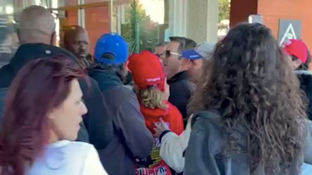 Trump-loving anti-maskers storm California grocery: 'I don't want underwear over my face!'