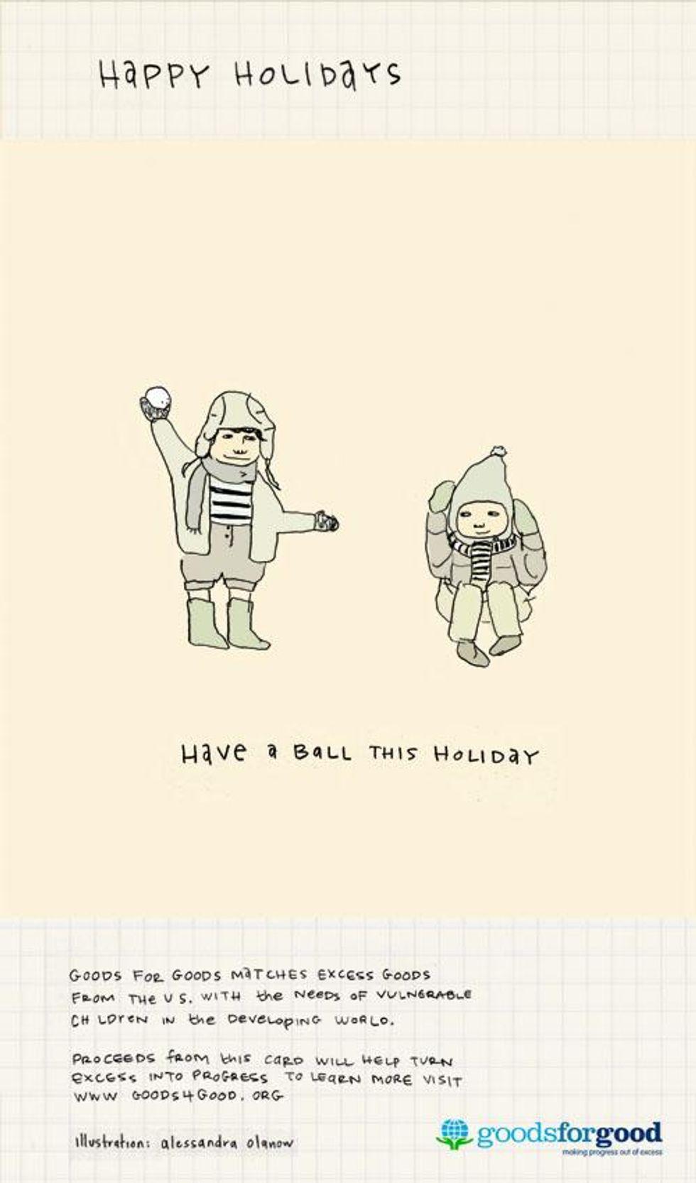 Gentleman of Leisure: Goods 4 Good 4 the Holidays.