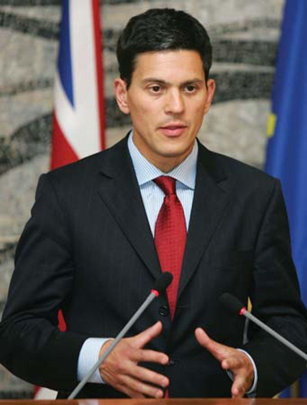 British Foreign Secretary: Sexiest Man in Politics