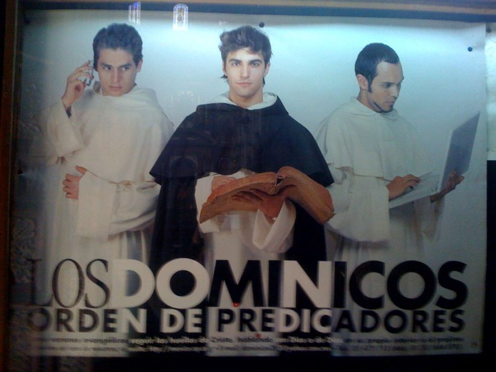 Who Knew the Dominican Monks Were Such Hunks?