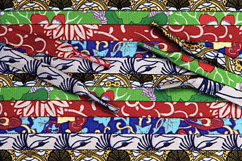 Eight Items or Less: Kehinde Wiley Shoelaces, Fran Lebowitz & Good Peoples