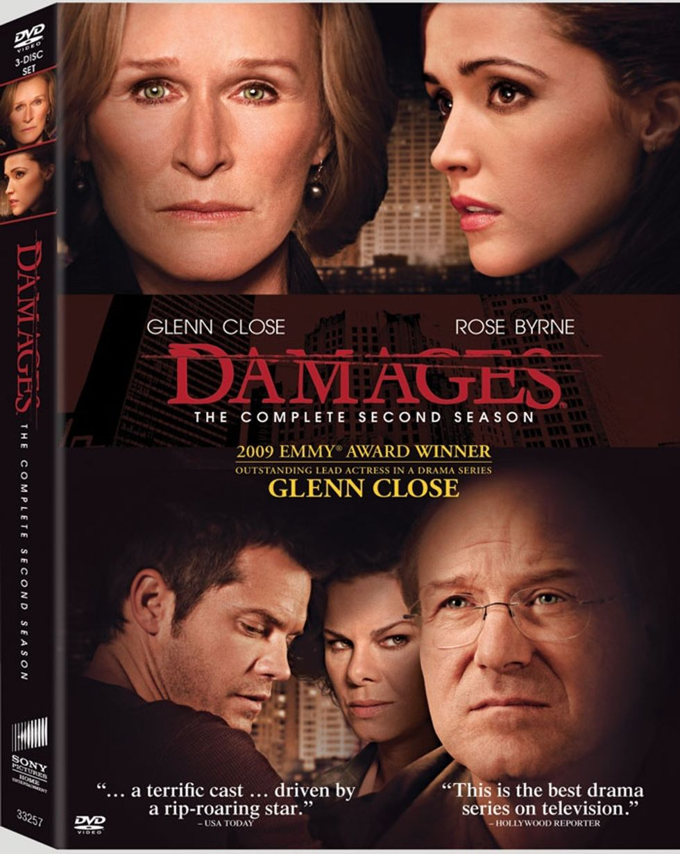 The Second Season of Damages Out on DVD