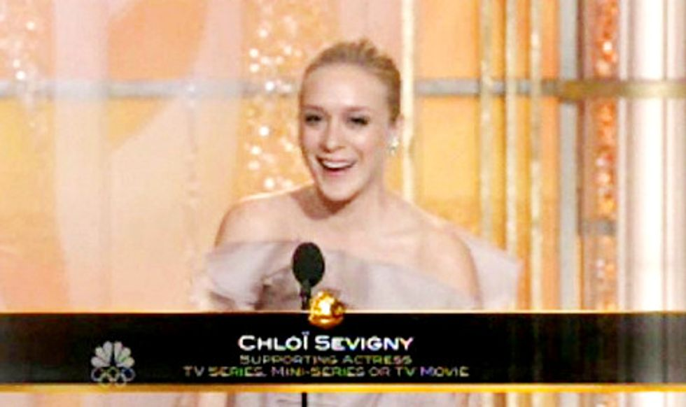 Chloe Sevigny Triumphs -- Despite Dress Rip and Name Misspelling