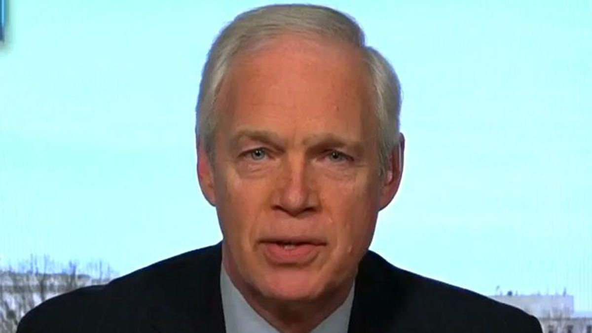 Ron Johnson hammered for calling for Capitol riot investigation of Pelosi as Trump impeachment trial winds down