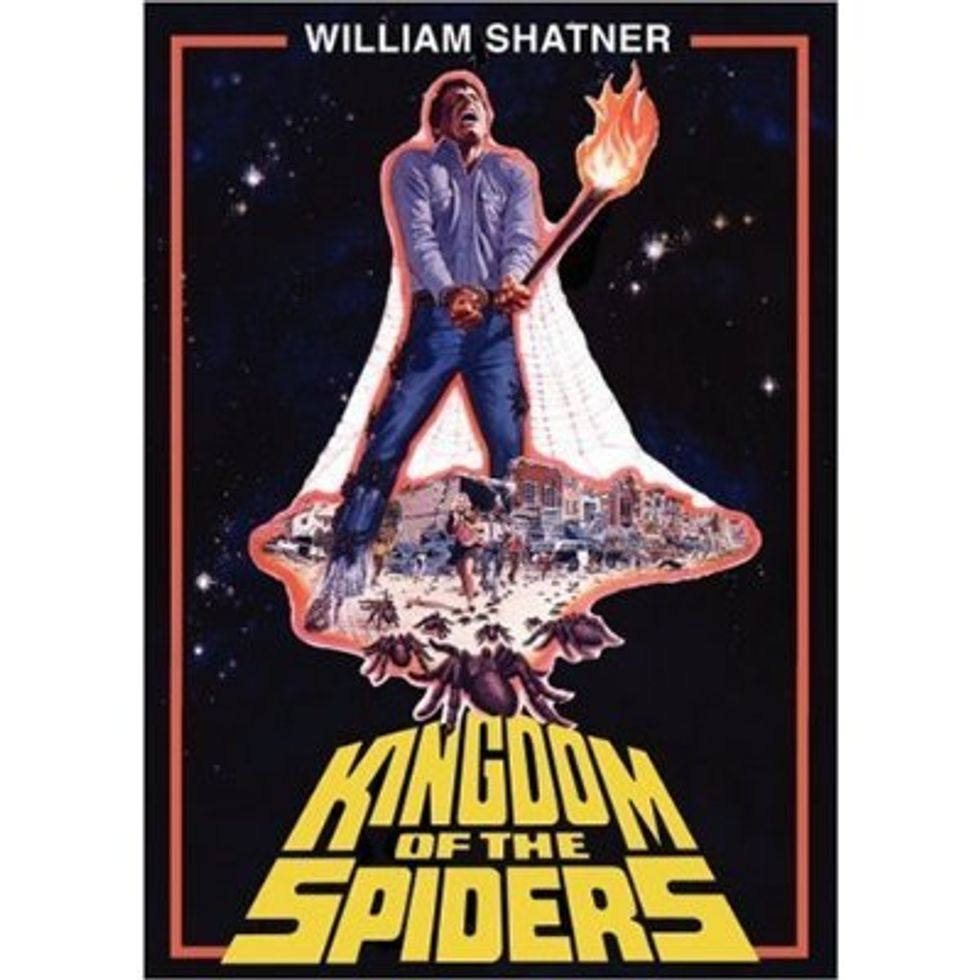 Eight Legs Up For Kingdom Of The Spiders!