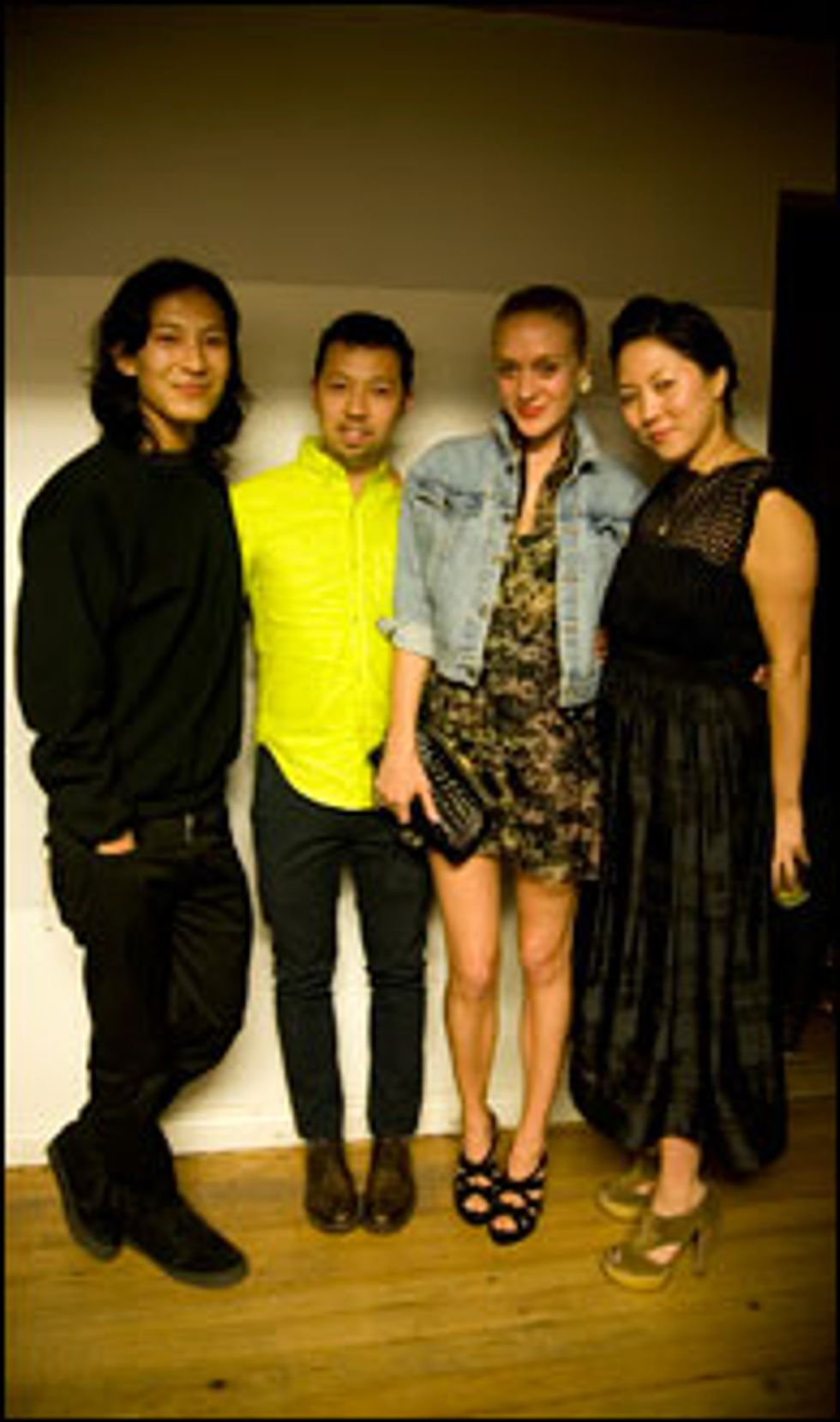 Opening Ceremony and M.I.A. Host Dinner to Celebrate Alexander Wang for Linda Farrow