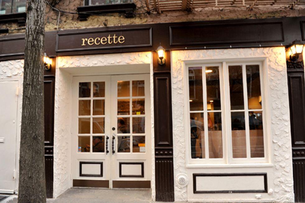Restaurant of the Week: Recette