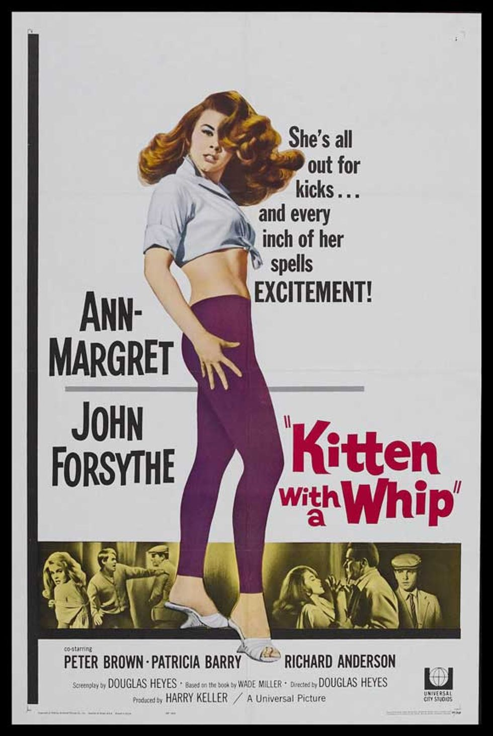 Fabulously Trashy: Kitten With a Whip on DVD!