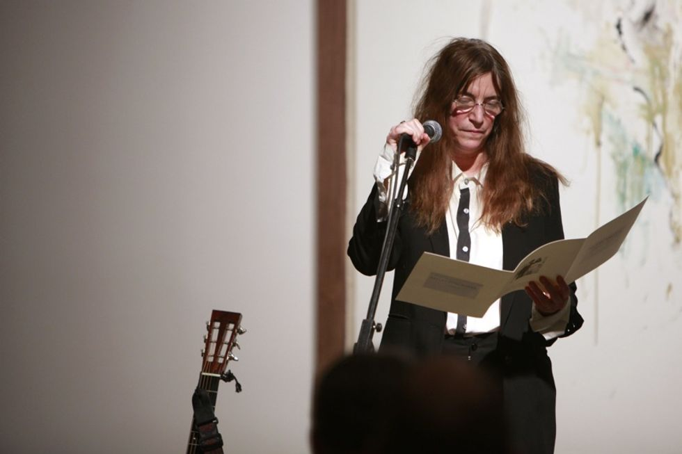 Patti Smith: An Evening of Words and Song at Robert Miller Gallery