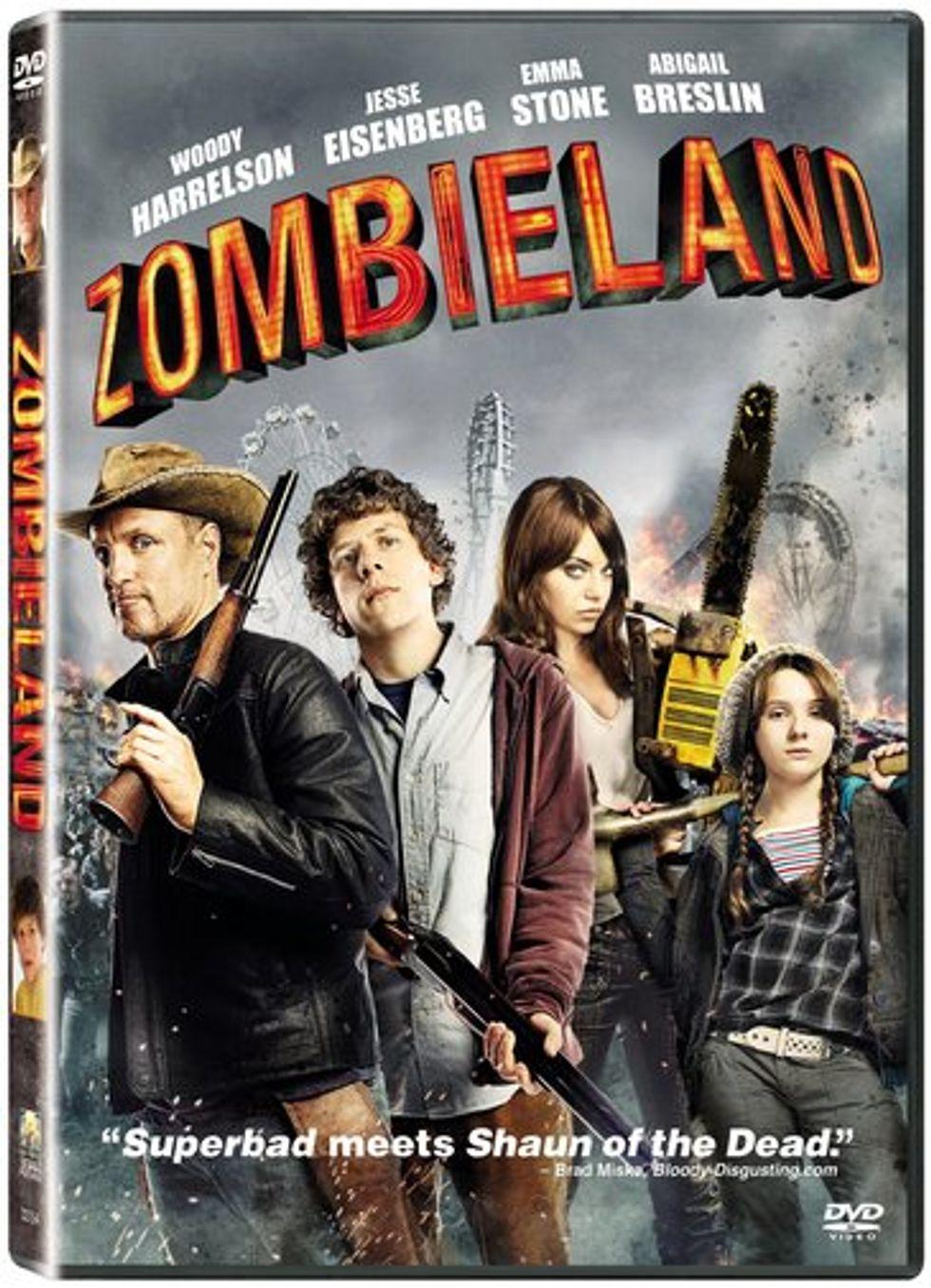 Zombieland On DVD!