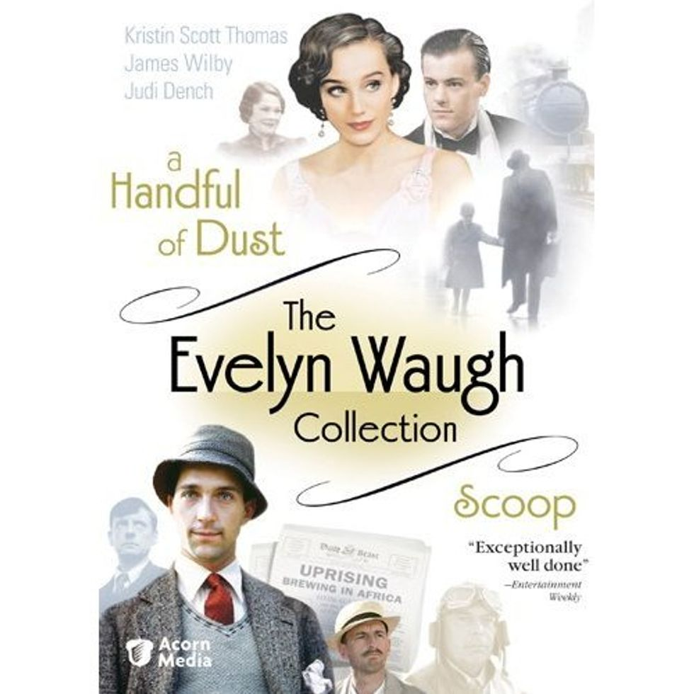 The Evelyn Waugh Collection On DVD!