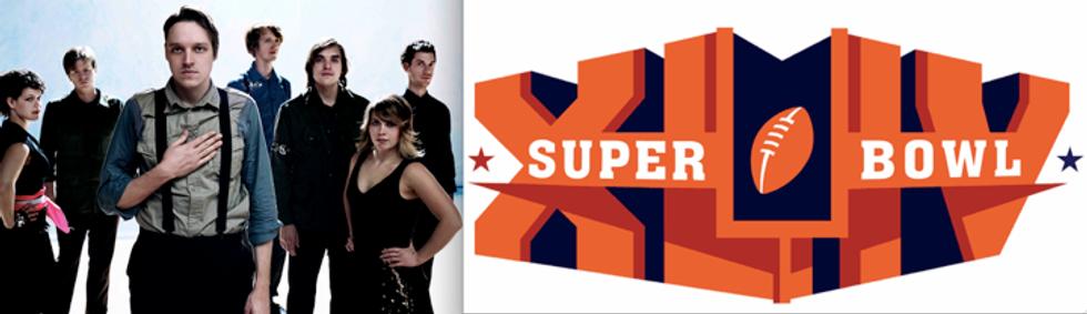 Superbowl Sunday: Brews, Bros and Arcade Fire?