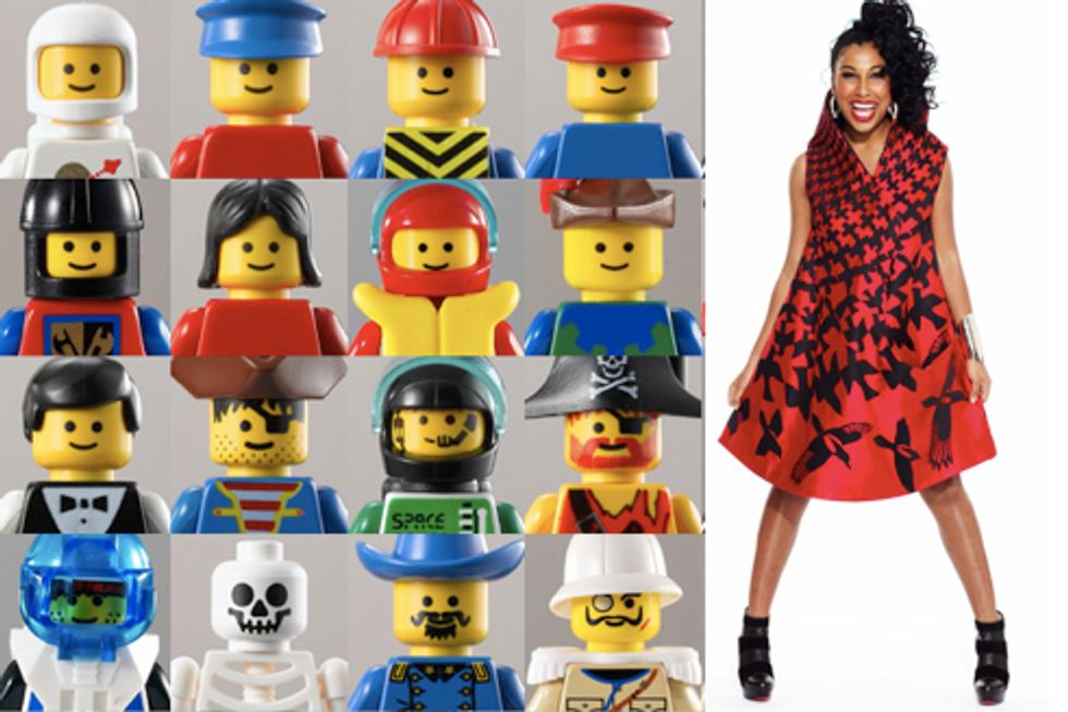 Eight Items or Less: Hijacked LEGOs and Melanie Fiona