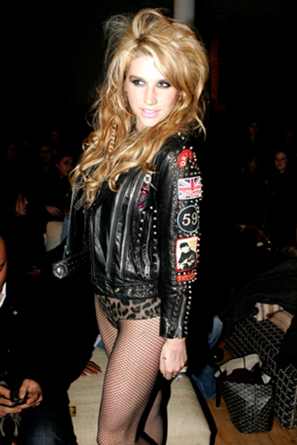 Ke$ha Insists Her Pants-less Look Is Not Inspired By Lady Gaga