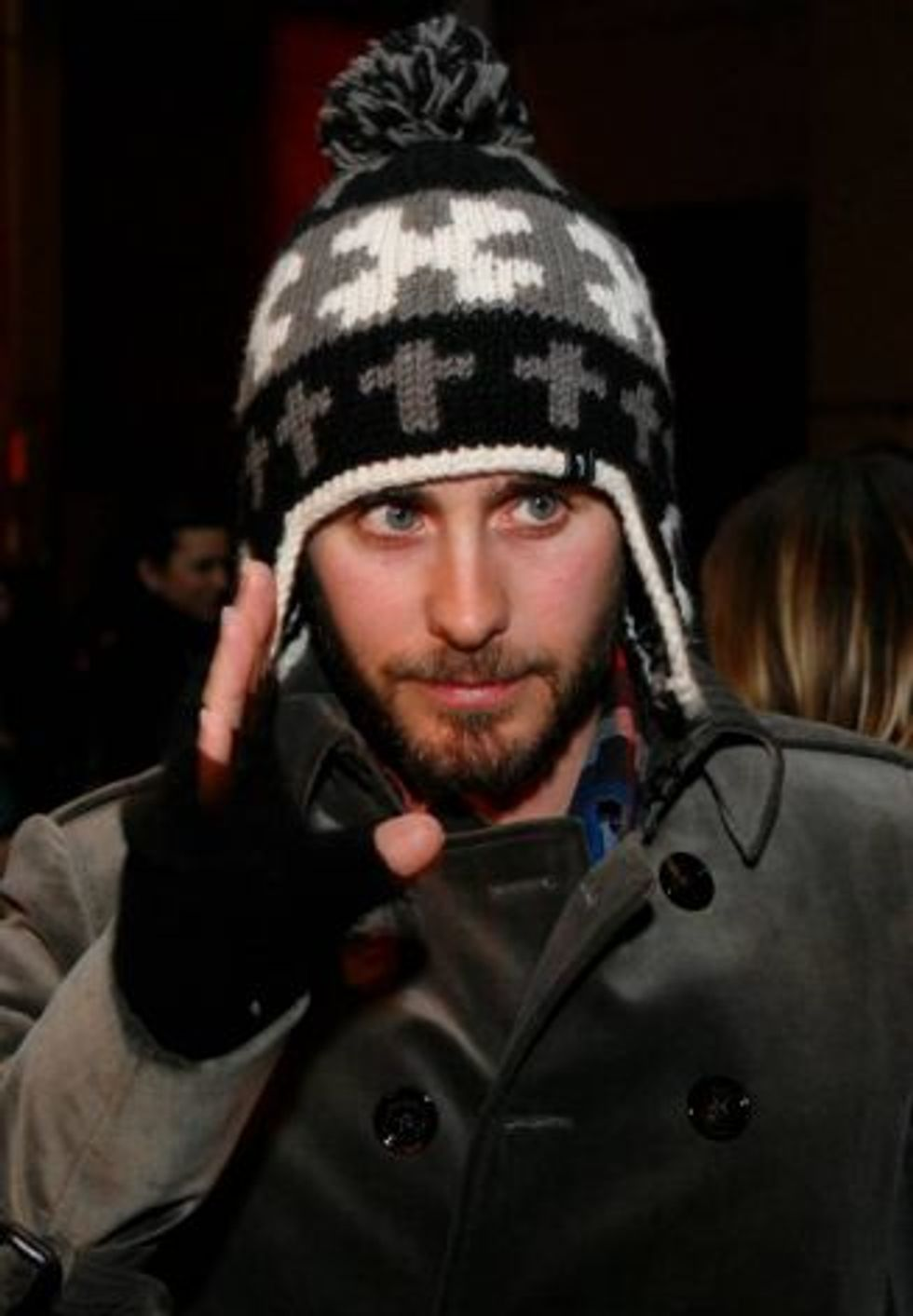 Jared Leto Makes PAPERMAG a Little Flustered at the Erin Wasson X RVCA Show